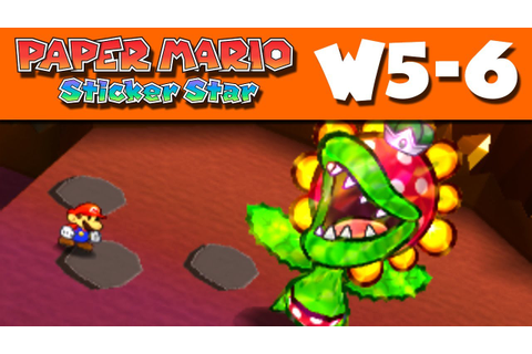Paper Mario Sticker Star - World 5-6 - Rumble Volcano W5-6 ...