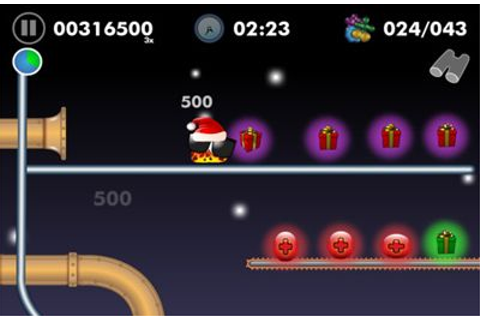 Blobster Christmas iPhone game - free. Download ipa for ...