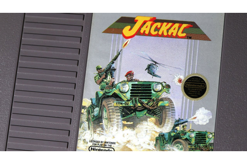 Classic Game Room - JACKAL review for NES - YouTube