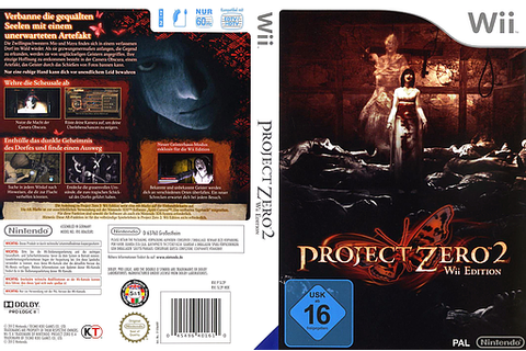 Project Zero II Game's Cover Research | A2 Media Project