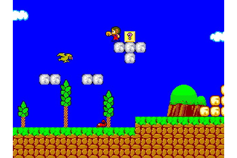 Alex Kidd in Miracle World . Прохождение Alex Kidd in ...