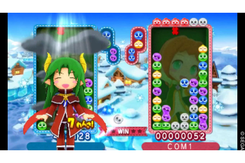 Puyo Puyo Chronicle - All Character Spells (Normal voice ...