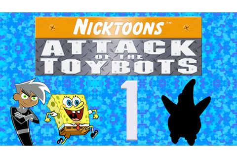 Let's Play Nicktoons: Attack of the Toybots (DS), ep 1 ...