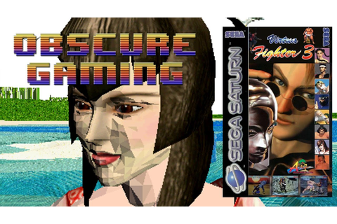 Obscure Gaming - Virtua Fighter 3 Saturn - YouTube