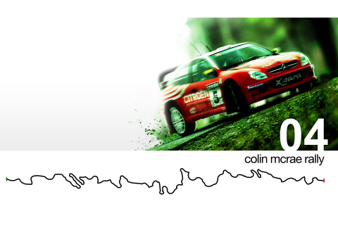 Colin McRae Rally 04 HD Wallpaper | Background Image ...