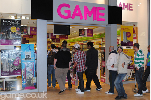 Halo Reach Midnight Launch at GAME, Basingstoke | The ...