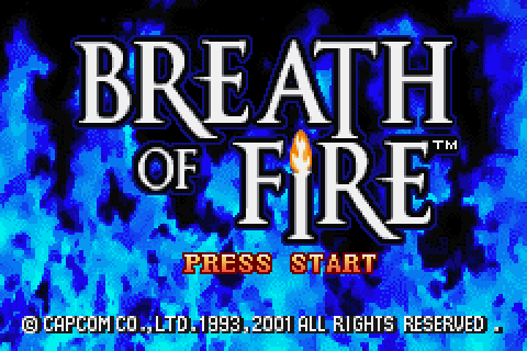 Game: Breath of Fire [Game Boy Advance, 2001, Capcom] - OC ...