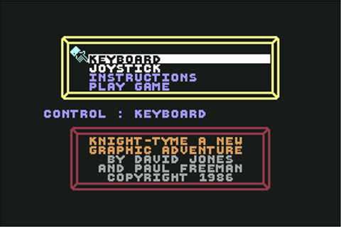 Download Knight Tyme (Amstrad CPC) - My Abandonware