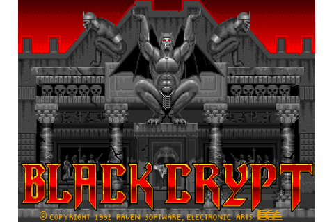 Black Crypt : The Company - Classic Amiga Games