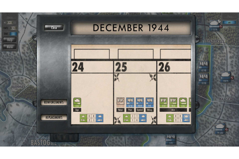 Test de Battle of the Bulge sur HistoriaGames