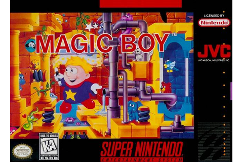 Magic Boy SNES Super Nintendo