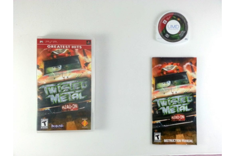Twisted Metal Head On game for PSP (Complete) | The Game Guy