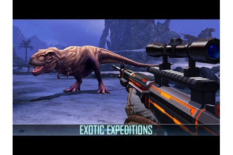 Dino Hunter: Deadly Shores Gameplay - T-Rex,RPG - YouTube