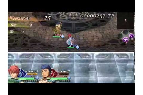 Ys vs Sora no Kiseki: Alternative Saga (PSP) with ...