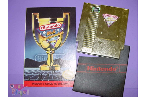 Nintendo World Championships 1990 sur eBay - Retrogaming