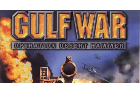 Save for Gulf War: Operation Desert Hammer | Saves For Games