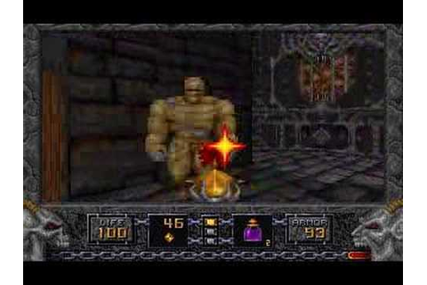 Heretic (DOS) - Game Play - YouTube