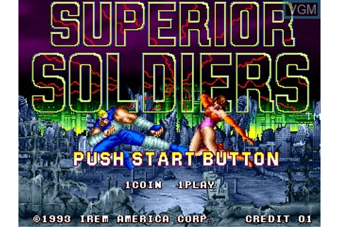 Perfect Soldiers for MAME - The Video Games Museum