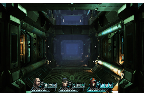 Indie Retro News: Space Shock - Sci-fi RPG Dungeon Crawler