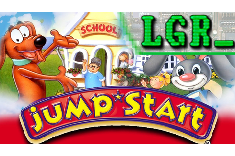LGR - Jump Start - PC Game Review - YouTube
