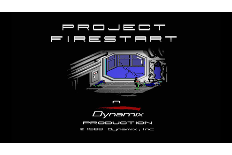 "Project Firestart, 1988 Dynamix, EA ""Playthrough"" (PC/C64 ..."