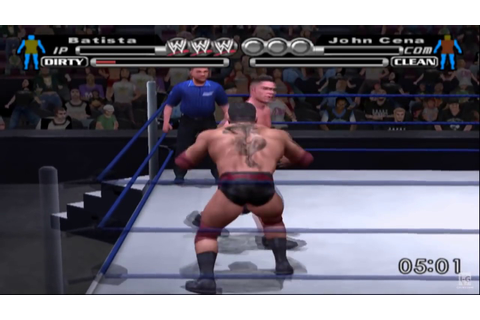 WWE SmackDown! vs. Raw PS2 Gameplay HD - YouTube