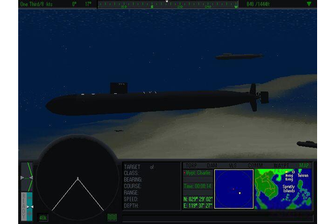 Tom Clancy's SSN Download (1996 Simulation Game)