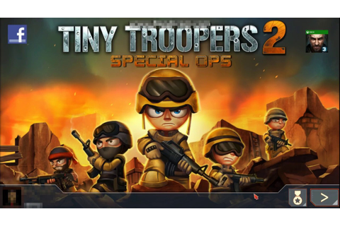 TINY TROOPERS 2: OPERATION 1: UNICORN LAIR (GAMEPLAY ...