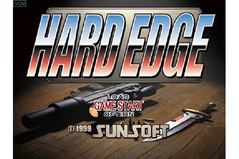 Hard Edge for Sony Playstation - The Video Games Museum