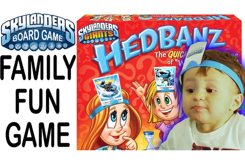 Skylanders HEADBANZ Family Guessing Game - Who Am I? - YouTube