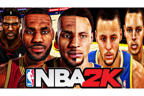 NBA 2K Games Evolution (NBA 2K - NBA 2K16) - YouTube