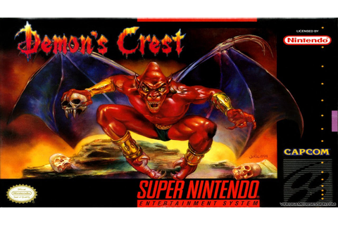 Demon's Crest Walkthrough Longplay SNES - YouTube