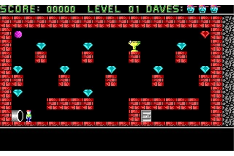 Dangerous Dave (DOS) Game Download