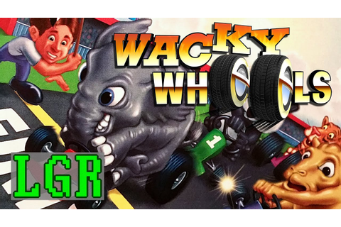 LGR - Wacky Wheels - DOS PC Game Review - YouTube