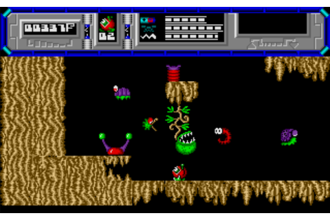 My all time favourite video games: Starquake - Sinclair ...