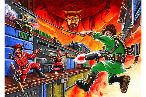 Bionic Commando (classic version) | Capcom Database ...