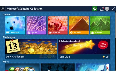 Microsoft Solitaire Collection for Windows 10