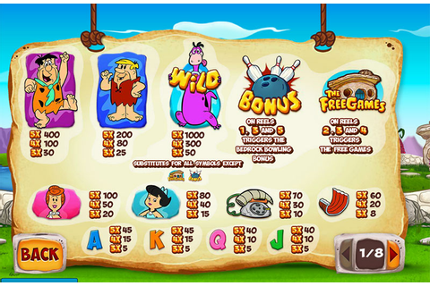 The Flintstones Slot Machine - Free Play | DBestCasino.com