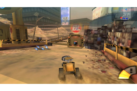 Wall-E PSP Gameplay HD - YouTube