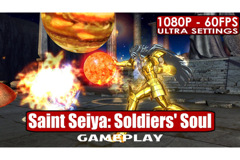 Saint Seiya: Soldiers' Soul gameplay PC HD [1080p/60fps ...