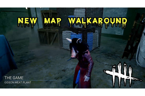 New Map Walkaround: The Game, Gideon Meat Plant - Dead by ...