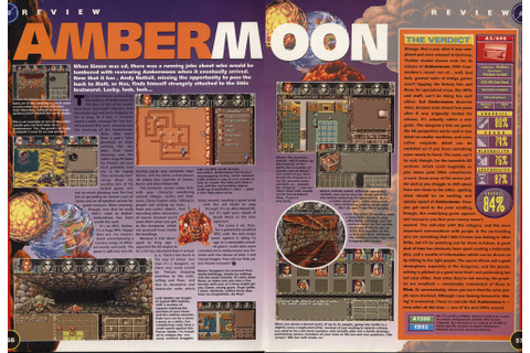 Ambermoon preview by Amiga Games