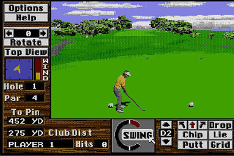 Links: The Challenge of Golf Review for Sega CD (1995 ...