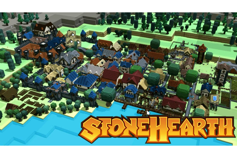 Completing the Town | Stonehearth | Alpha 19 | Gameplay ...