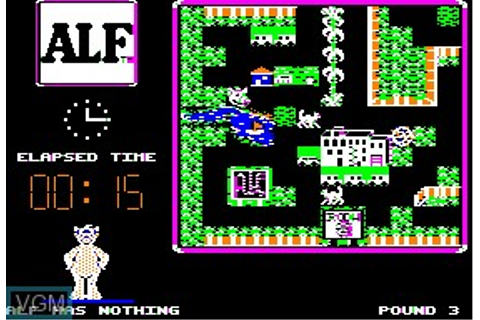 Alf, The First Adventure for Apple II - The Video Games Museum