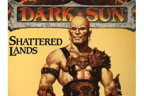 Dark Sun: Shattered Lands - Main Menu Theme (MS-DOS) - YouTube