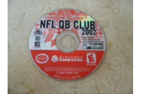Game Cube NFL QB Club 2002 | Enkore Kids