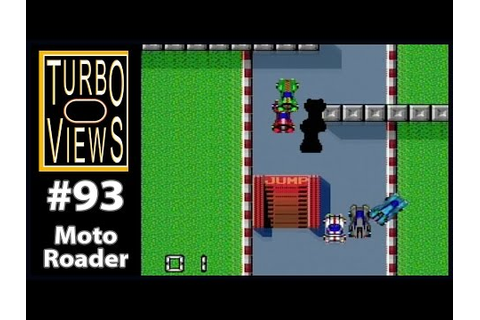 """Moto Roader"" - Turbo Views #93 (TurboGrafx-16 / Duo game ..."