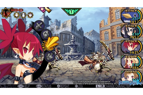 Demon Gaze launch day Disgaea DLC screenshots - Gematsu