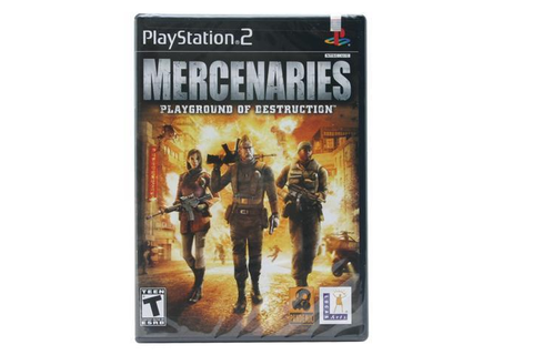 Mercenaries: Playground of Destruction Game - Newegg.com